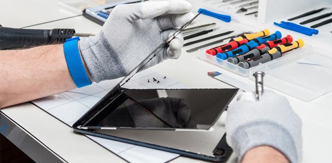 assistenza riparazione tablet